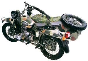 """Сейчас мотоцикл  """"Урал """" - это и машина-легенда годов Великой Отечественной войны, и желание большинства современных..."""