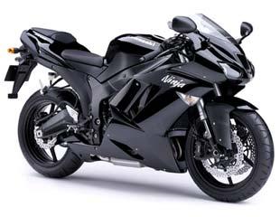 Мотоцикл Ninja ZX-6R (ZX600P)