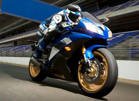 Новый мотоцикл Yamaha YZF-R6