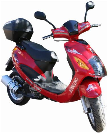 Скутер Honling Samurai 50 - мотоциклы и скутеры