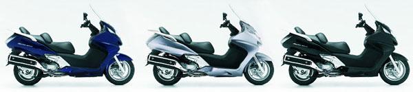 Скутер Honda Silver Wing 600 ABS - цвета