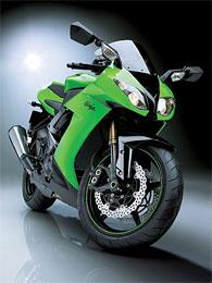 Спортивный мотоцикл Kawasaki Ninja ZX-10R