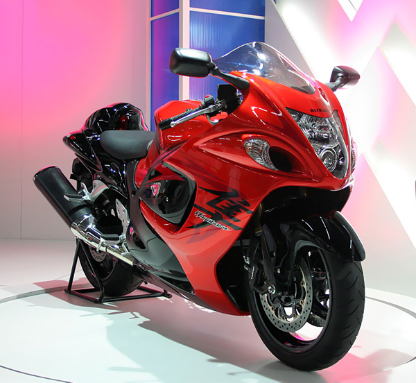 Самый быстрый мотоцикл suzuki hayabusa gsx1300r