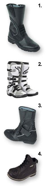 выбор мотоциклетной обуви