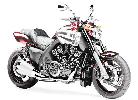 Yamaha V-Max 2009