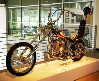 Harley-Davidson из фильма Беспечный ездок (Easy Rider)