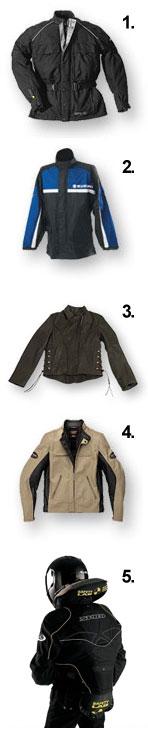 Типы мотоциклетных курток