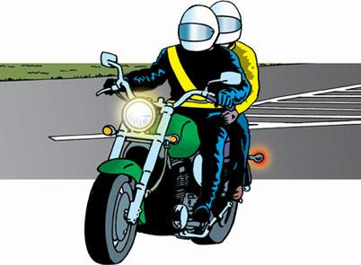 перевозка пассажиров на мотоцикле