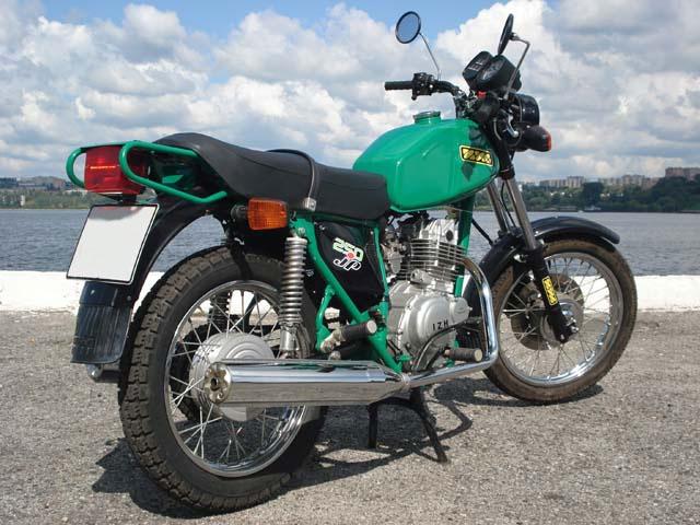 Иж Сайгак (фото мотоцикла)