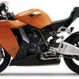 Новый спортивный мотоцикл KTM RC8 1190