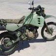 Армейский дизельный мотоцикл HDT