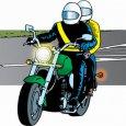 Езда на мотоцикле с пассажиром